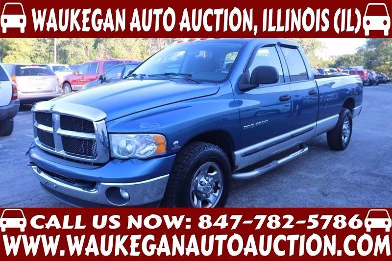 truck up at auction in Chicago